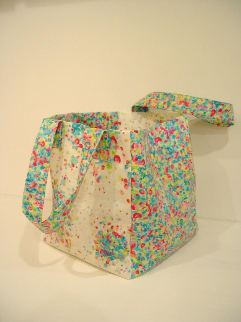 Oilcloth Shopping Bag