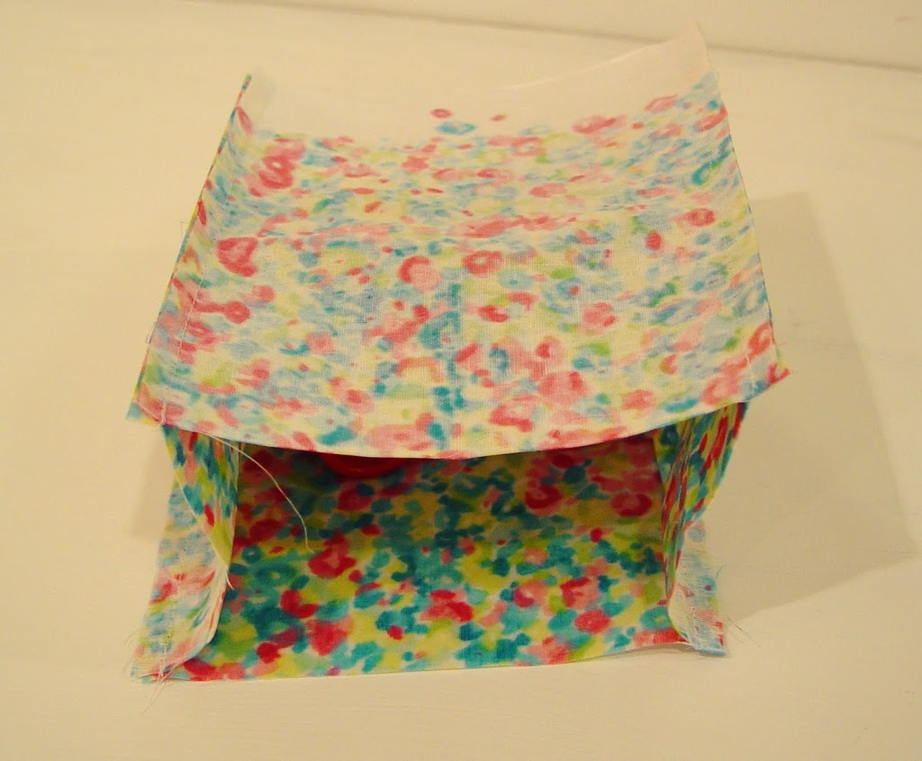 oilcloth mini shopper