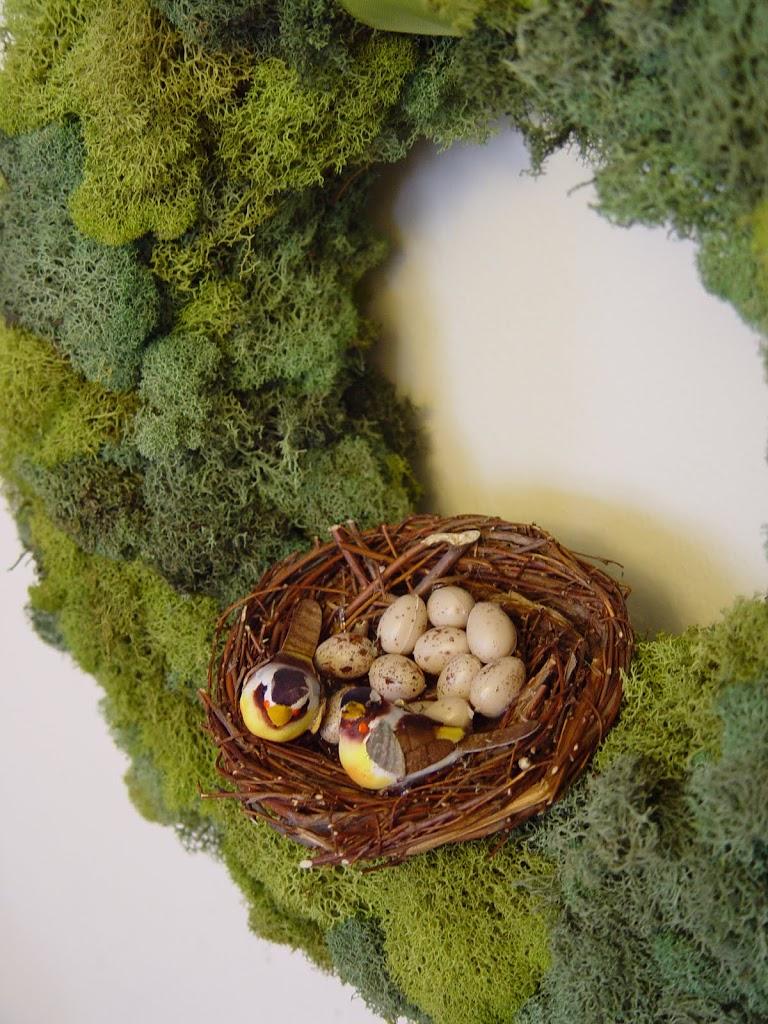 Mossy Spring Wreath