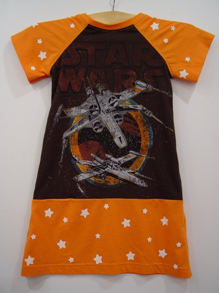 Star Wars Sienna Dress and Daddy Tee