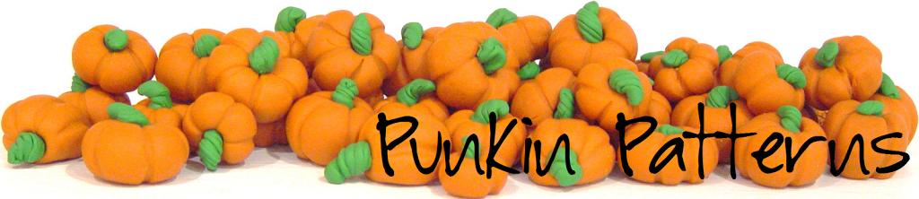 Pumpkins, A Banner and A Button