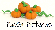 Pumpkins, A Banner and A Button