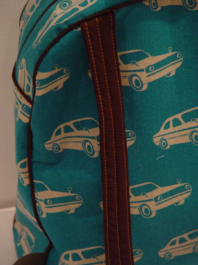 Echino - Cars in Turquoise