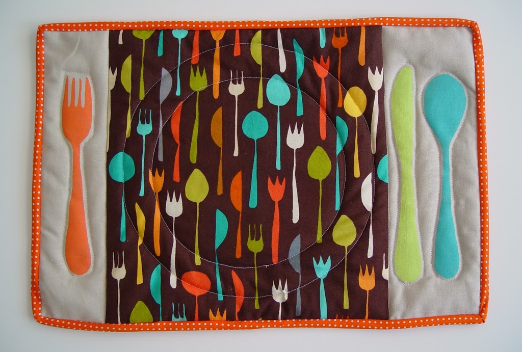 Table Setting Placemat – Punkin Patterns