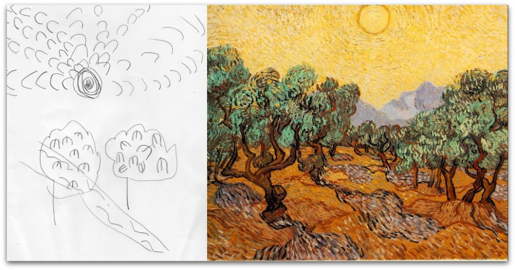 Drawing with van Gogh