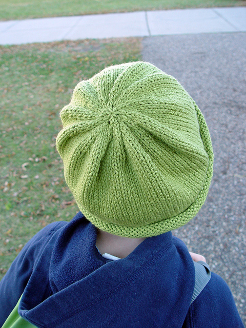 Simple Green Hat