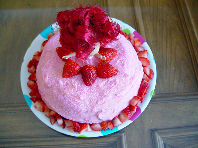 The Strawberry Shortcake (Cake)