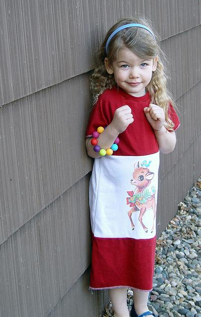 Quick Christmas Dress