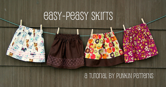 Easy Peasy Skirts Punkin Patterns