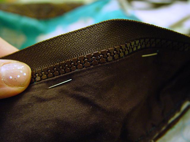 replacing a broken zipper