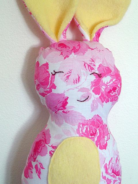 Vintage Rose Bunny