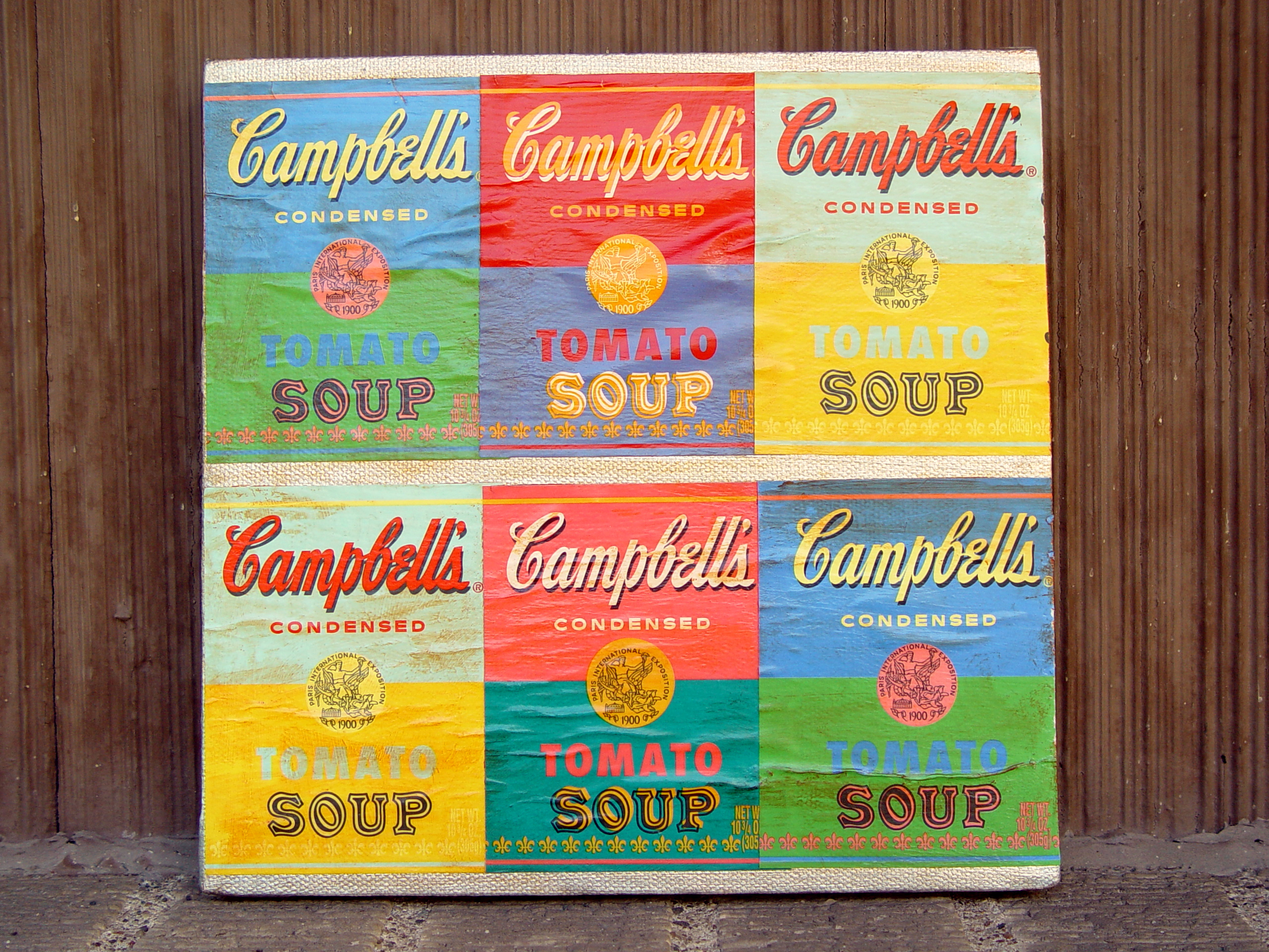 Andy Warhol Soup Label Art Punkin Patterns