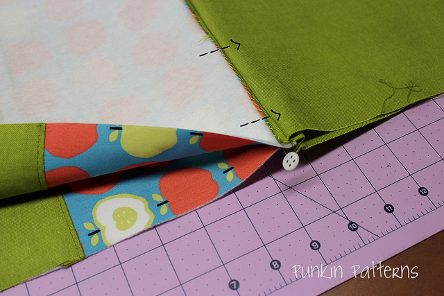 simple zippered pouch