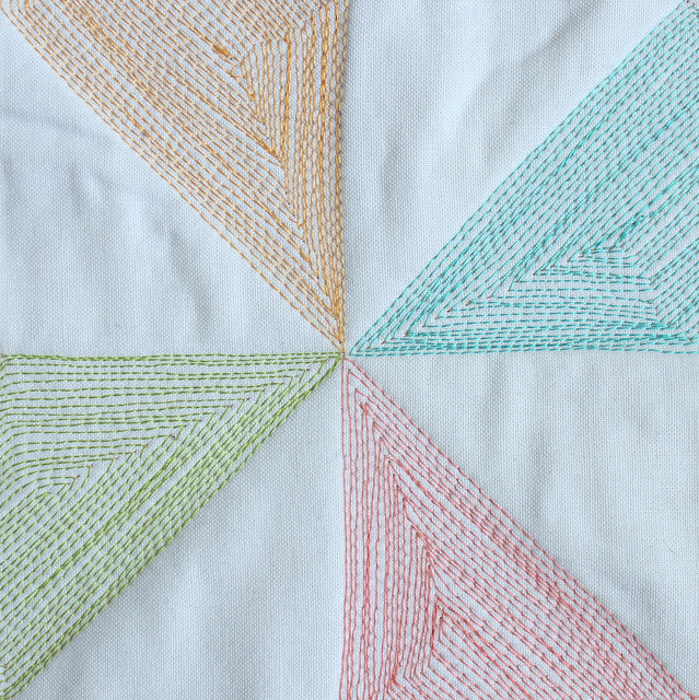 thread quilt block