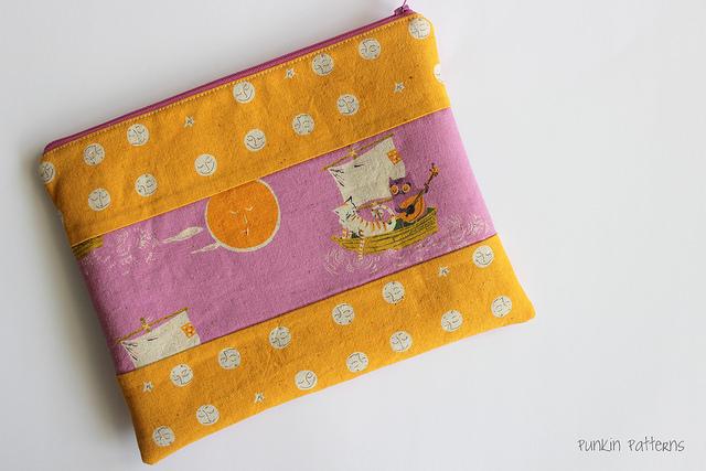 far far away zip pouch