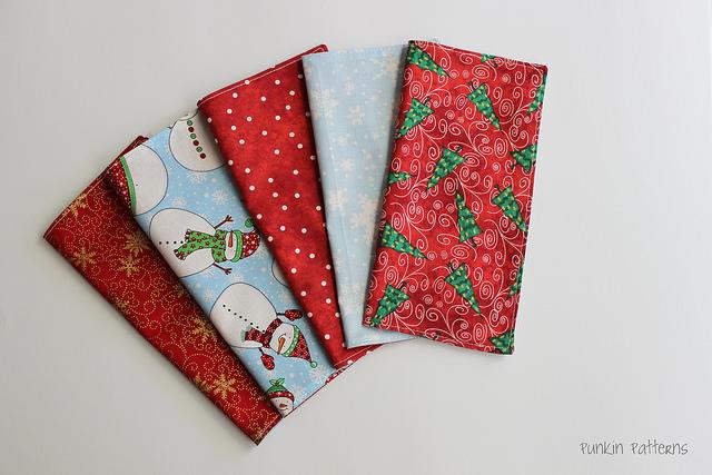 sew a straight line - simple napkins