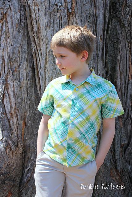 tartan dress shirt