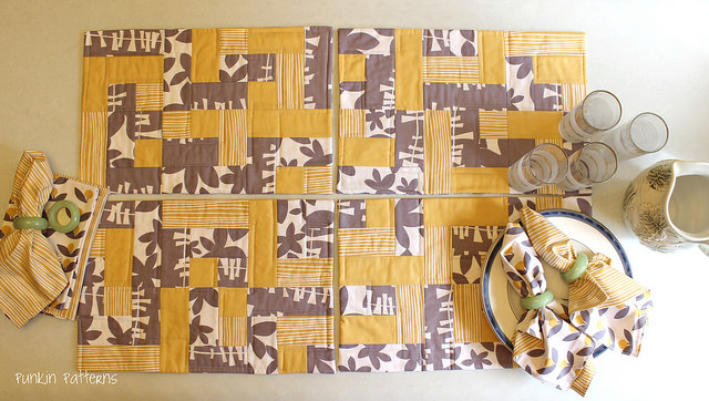 easy peasy placemats pattern