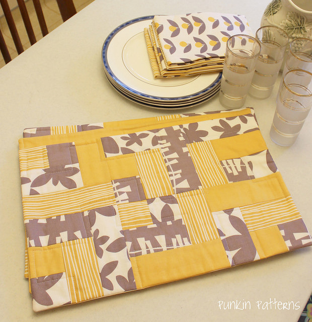 easy peasy placemat pattern