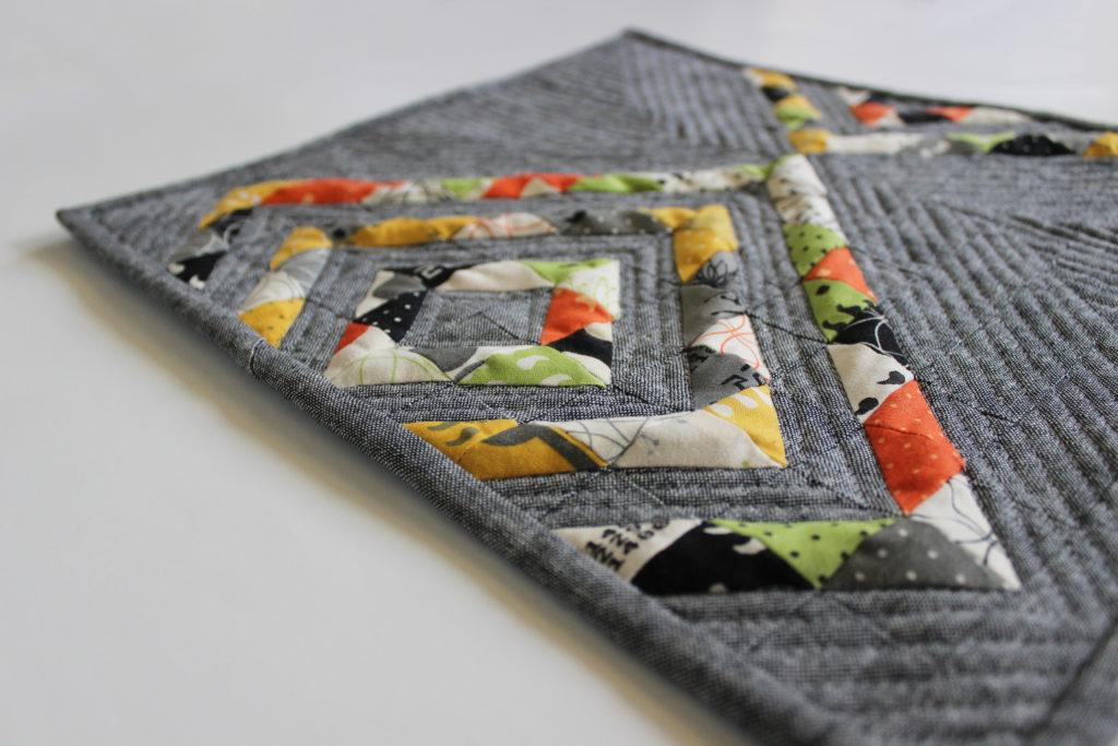 Reflektion mini quilt