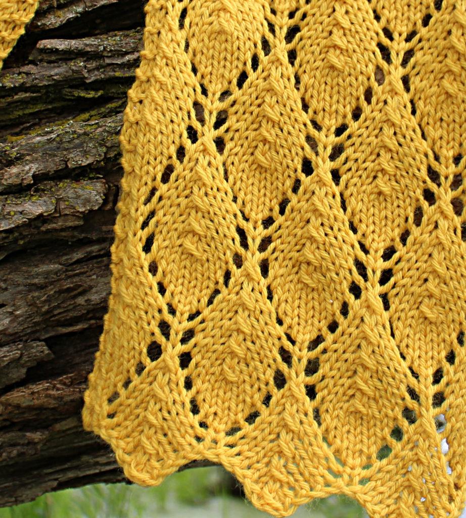 Falling Leaves in Goldenrod