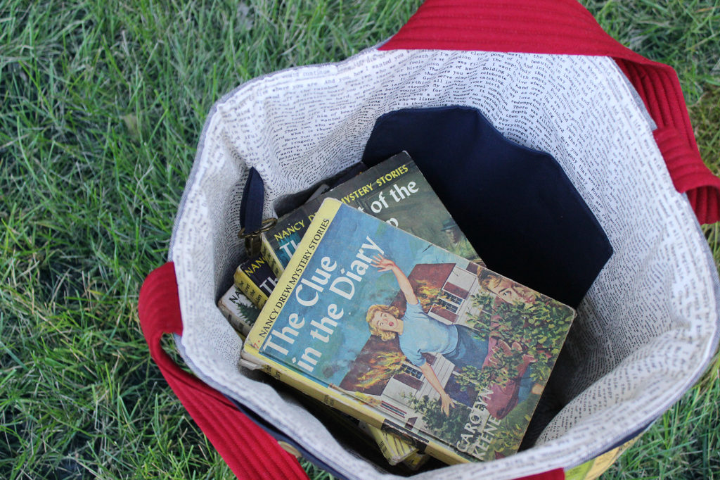 Nancy Drew Library Tote