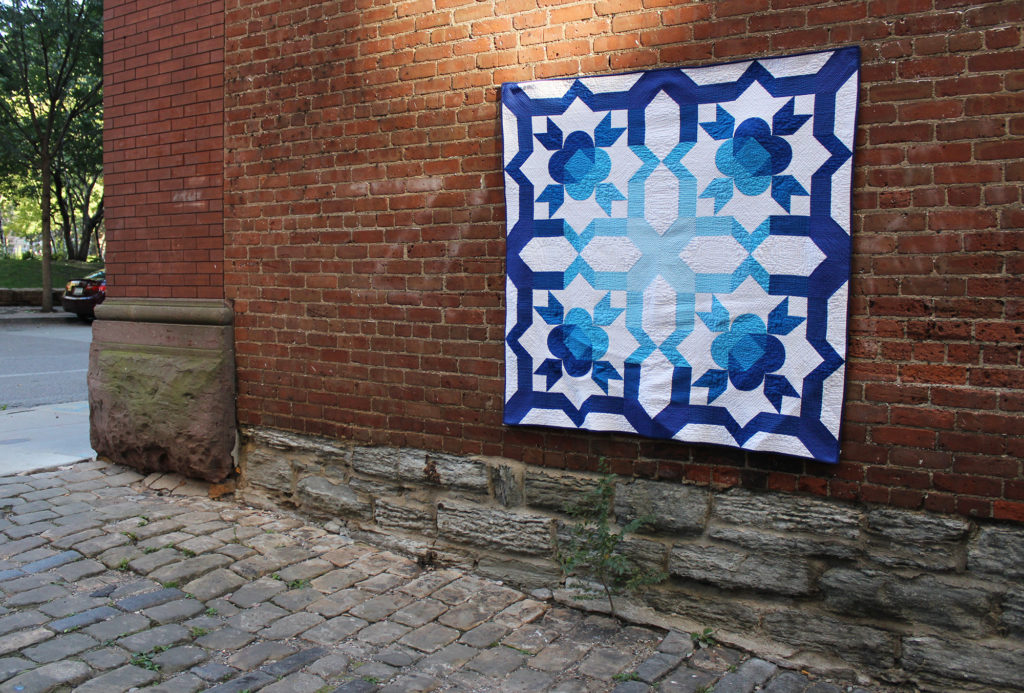 Sky gazer Infatuation Quilt, throw size, Pattern by Punkin Patterns
